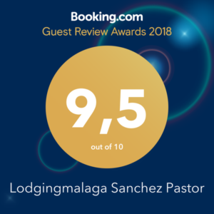 Certificado de Booking Guest Review Awards 2018