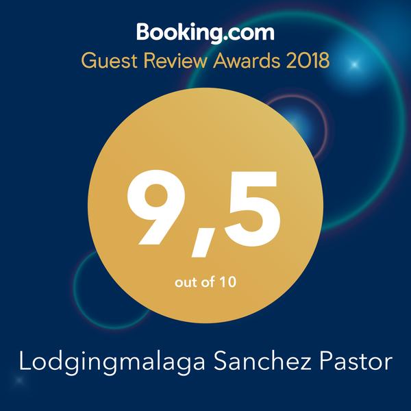 Certificado de Booking Guest Review Awards 2018